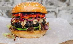 Behold... the ultimate meatless man burger - GQ.co.uk
