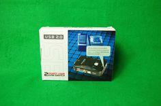 2 Port USB 2.0 KVM Switch, VGA, Tastatur, Maus, Monitor, Drucker, Scanner etc