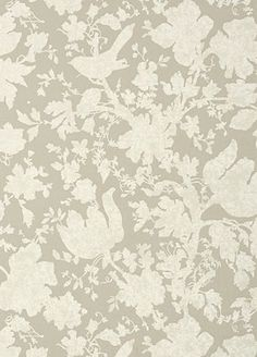 Garden Silhouette Wallpaper from Anna French. To purchase, visit your nearest Ring's End design