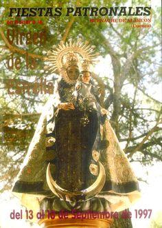 Fiestas patronales de Buenache de Alarcón (Cuenca), en honor de la Virgen de la Estrella. Del 13 al 18 de septiembre de 1997. Durante la mañana en la ermita, concierto de reja. #Fiestaspopulares #BuenachedeAlarcón #Cuenca