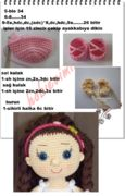 andy bebek - Models with description- andy bebek – Açıklamalı Modellerimiz andy bebek – Models with description - Crochet Doll Pattern, Crochet Dolls, Knit Crochet, Crochet Patterns, Crochet Hats, Loom Knitting Stitches, Amigurumi Doll, Toys For Boys, Doll Patterns