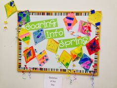 The Crafty Teacher: Two Spring Bulletin Boards