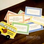 Printable School Lunch Jokes + Holidays