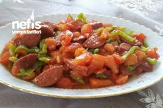 Sucuklu Pazar Speciali Turkish Recipes, Ethnic Recipes, Turkish Breakfast, Turkish Delight, Homemade Beauty Products, Salsa, Breakfast Recipes, Health Fitness, Appetizers