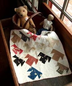Several small quilt patterns by Kathleen Tracy