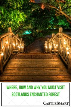Have you ever wanted to visit an enchanted forest in the beautifully mysterious Scottish countryside! Well, this years event – held in Pitlochry, Scotland is sure to be a magical experience that you will want to explore! #RealEstate #LiveinScotland See more at: http://castlesmart.com