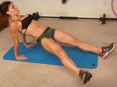Melissa Bender Fitness: Guns and Glutes: Body Weight Workout
