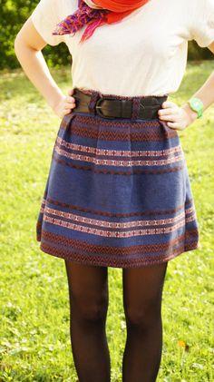 Jupe chardon ethnique par Silwet - thread&needles