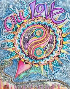 One Love. Free Spirit Girl