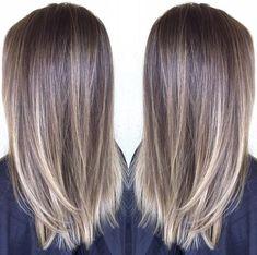 33 trendy ombre hair color ideas of 2019 - Hairstyles Trends Belage Hair, Ash Hair, Brown Blonde Hair, Brunette Hair, Sunkissed Hair Brunette, Balyage Brunette, Beige Blonde Balayage, Balayage Straight Hair, Balayage Hair Ash