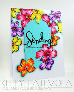 Such a Gorgeous card by Kelly Latevola for the Simon Says Stamp Blog using Simon Says Stamp Exclusives.