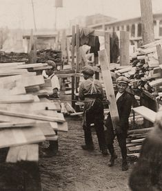 The History Place - Child Labor in America 1908-12: Lewis Hine Photos - A Variety of Jobs.  This was taken at Hickok Lumber Co. Burlington, Vermont.
