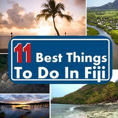 11 Things to do in Fiji – A Paradise on Earth Tahiti, Bora Bora, Vacation Places, Dream Vacations, Places To Travel, Travel Destinations, Travel Stuff, Tulum, Fiji Honeymoon