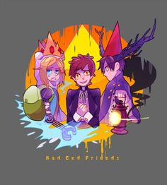 The Bad End Friends. Poor guys. Except Bill. But that's just because he's very crazy