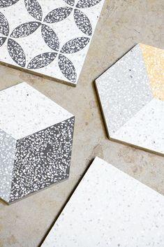 Terrazzo, Tile, Balcony, Mosaics, Tiles, Backsplash