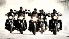 Sons of Anarchy. Ridin thru this world...all alone. Ahh can't wait for the new season to start!