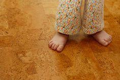 suelo de corcho