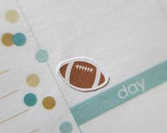 60 Football Stickers  Planner Stickers  Erin by PaperLovingMommy