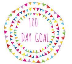100 day goal 2015