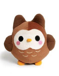 Kawaii owl plush