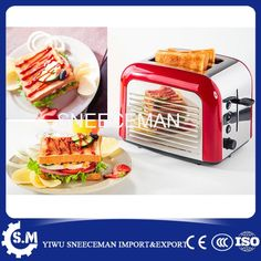 43.00$  Buy now - http://aliybd.shopchina.info/1/go.php?t=32811210920 - 2 pcs bread baking machine stainless automatic steel toaster Home Automatic multi-oven breakfast machine  #magazineonline