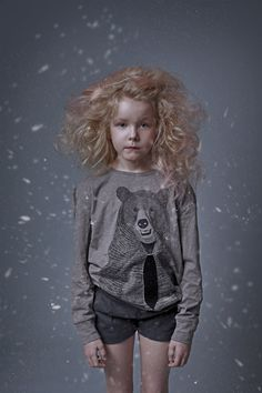 Magical Winter Creatures :: RAWR (top / Soft Gallery; shorts / Mar Mar Copenhagen)