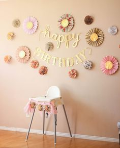 Oaklyn Joy's First Birthday Party | Pink and gold first birthday party ideas