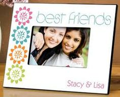 Buy Personalized Easter Gifts For Sale. Adorable Personalized Easter Gifts for Children Best Friend Picture Frames, Best Friend Pictures, Bff Pictures, Personalized Picture Frames, Personalized Gifts, Personalized Wedding, Dancing Daisy, Bright White Background, Bff Gifts