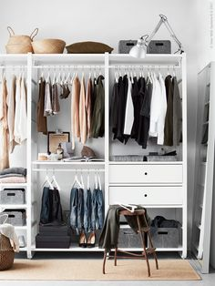 Ikea Closets To Create A Custom Closet Look Apartment Therapy Armoire