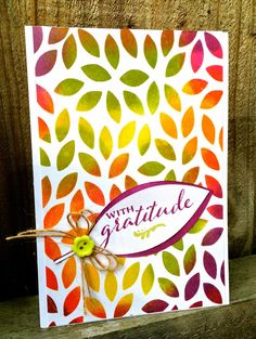 My Paper Epiphany: Winnie & Walter August Blog Hop - with gratitude card by Jenny Martin featuring stamps and digital cut files from A Tree for All Seasons.  #winniewalter