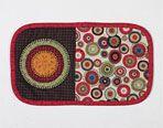 Festive Mug Rug Pattern Download quilt patterns, quilting patterns, quilt pattern- links to selection of free patterns