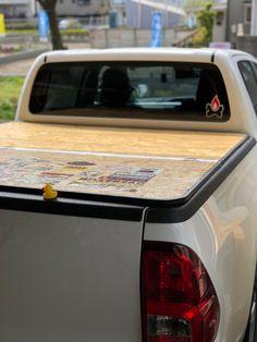 新型ハイラックス用自作トノカバー : タイラックスとテレモーグル