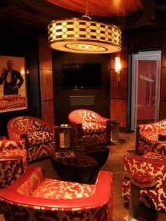 Who says man caves have to be dark and dingy? These ideas for man caves seen on HGTV shed a whole new light on the way guys hang out.
