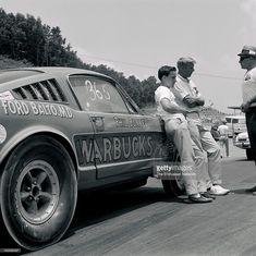 """Daddy Warbucks"" Mustang Vintage Drag Racing by marva Vintage Sports Cars, Vintage Race Car, Nhra Drag Racing, Auto Racing, 65 Mustang, Vintage Mustang, Ford Classic Cars, Pony Car, Drag Cars"