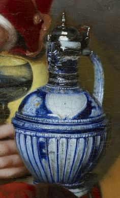 Johannes Vermeer, The Procuress (detail), 1656