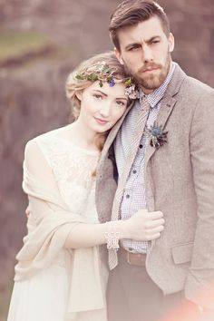 Whimsical and Romantic Scottish Castle Wedding Inspiration. http://www.glassjarphotography.com/