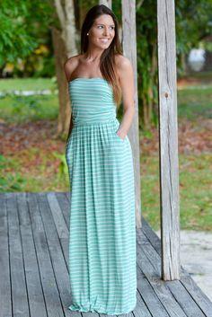 Go With The Flow Mint Maxi Dress Pockets Shop Simply Me – www.shopsimplyme.com