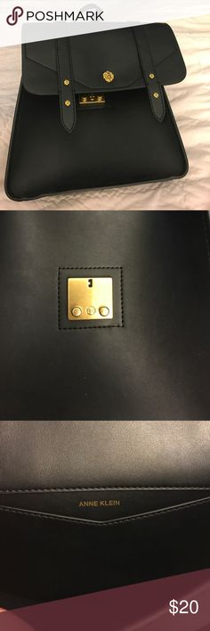 307d273ccd Anne Klein black backpack Black Anne Klein backpack. Adjustable straps. Not  real leather.