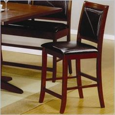 Coaster Furniture - Lancaster Counter Height Chair Set of 2 - 101792