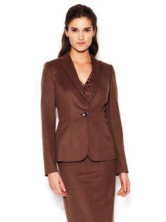 Wool Classic Jacket by Carolina Herrera at Gilt