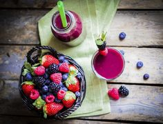Merenda #alfemminile: #fruttidibosco #smoothies #frullato #frutta #break