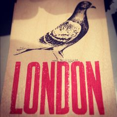 London pigeon emblem