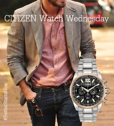 Don't be afraid to be you. #style #WatchWednesday, see the Shadowhawk here. #BetterStartsNow