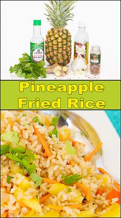 Fried Rice Pineapple Fried Rice is the perfect side dish! It's great with fish, chicken, beef, or pork. It also makes a great vegetarian entree. Also Also or ALSO may refer to: Side Dish Recipes, Asian Recipes, Dinner Recipes, Healthy Recipes, Ethnic Recipes, Rice Recipes, Oriental Recipes, Hawaiian Recipes, Chinese Recipes