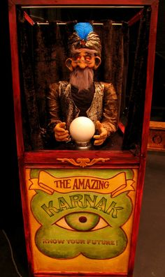 Fortune telling machine