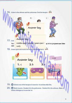 7. Sınıf İngilizce Pantera Yayınları Ders Kitabı Cevapları Sayfa 15   7. Sınıf İngilizce Pantera Yayınları Ders Kitabı Cevapları Sayfa 15 ... Green Eyes, Blue Eyes