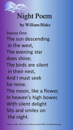 William Blake Night Poem