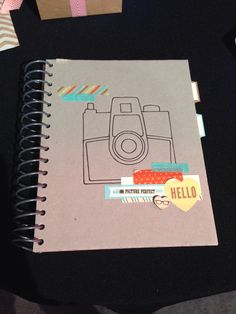 Stampin' Up! Retro Fresh This and That Journal, Peachy Keen, Washi Tape - Leadership ideas