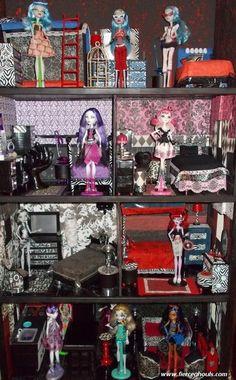 Free Printable Monster High Dollhouse   Monster Dollhouse Gallery