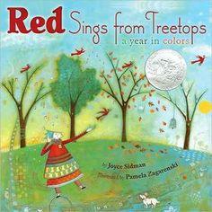 Joyce Sidman's Red Sings from Treetops